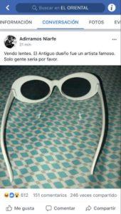 gafas-bad-bunny-venta-stereo-beso